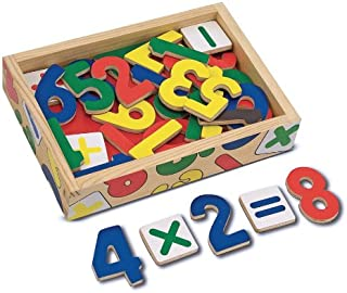 Melissa & Doug Number Magnets (37 Wooden Number Magnets in a Box, Great Gift for Girls and Boys - Best for 2, 3, 4, and 5 Year Olds
