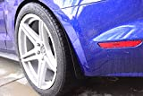 ZL1 Addons Deluxe Rock Guards - 2 Pair - Front & Rear Compatible with 2015-2021 Mustang