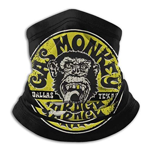 Best& Gas Monkey Garage Unisex multifunción Mas-k cuello Polaina protección UV al aire libre reutilizable Headwear pasamontañas