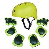 casco verde niño