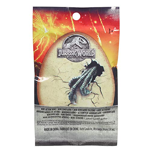 Mattel FML69 - Jurassic World Mini Action Dinos Blindpack, sortiert
