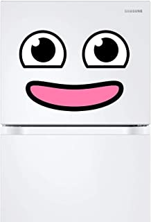 Kawaii Refrigerator Magnet (style A) – Smiley Face Fridge Magnets – Appliance Magnetic Decals – Funny Emoji Decorations for Kids – Ideal for Office, Home, Kids' Room