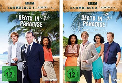 Death in Paradise - Sammelbox 1+2 (24 DVDs)