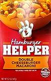 Betty Crocker DOUBLE CHEESEBURGER MACARONI Hamburger Helper 5.2oz (2 Pack)