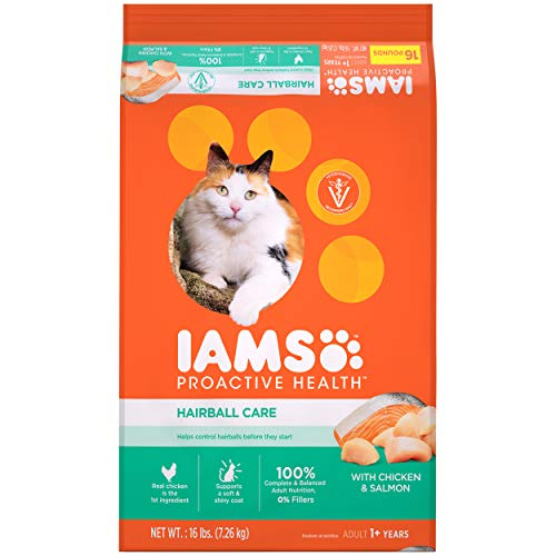 IAMS PROACTIVE HEALTH Adult Hairball Control Dry Cat Food -$9.70(61% Off)
