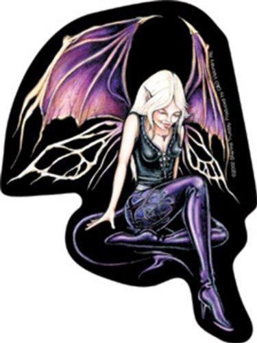 Shanna Trumbly NIGHT Fairy fée Rub-On Fairy fée Sticker autocollant Shanna Trumbly Officially Licensed Fairies & Fantasy Artwork Création, 4.5\