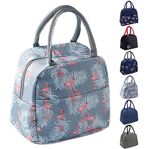 TOPSEFU Lunch Bag Tote Bag for Women Wide Open Insulated Cooler Bag Water Resistant Thermal Leak Proof Lunch Organizer for Men Girls Children Outdoor