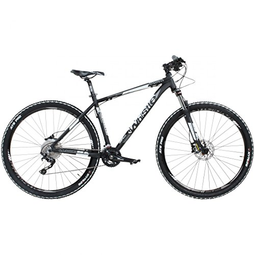 29 'Mountain Bike Whistle Patwin 1500 20S Shimano Deore SLX Negro Blanco de 29, color , tamaño 17 pulgadas, tamaño de cuadro 17.00 inches, tamaño de rueda 29.00 inches