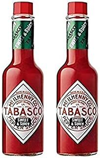 Tabasco Sweet & Spicy Pepper Sauce 5 oz (Pack of 2)