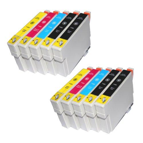 Wintinten 16XL Compatibili Cartucce Epson 16 XL per Epson Workforce WF-2630 WF-2760 WF-2510 WF-2530 WF-2520 WF-2540 WF-2750 WF-2660 WF-2650 WF-2010 (4 Nero,2 Ciano,2 Magenta,2 Giallo)