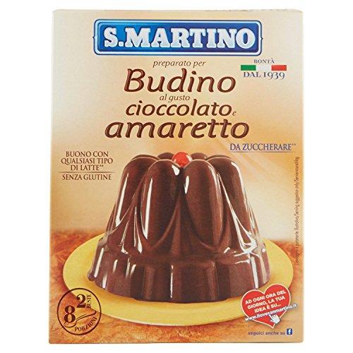 S.Martino Budino Amaretto, senza Glutine - Astuccio da 96 gr