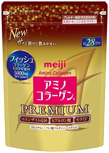 Meiji Amino Collagen Premium 214g, Refill