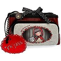 Gor-juss Little Red Riding Hood Neceser Pequeño Tres Compartimentos, Multicolor, 20 cm