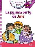 J'apprends à lire avec Sami et Julie - La pyjama party de Julie : CE1