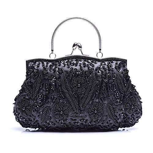 VENI MASEE Vogue Einfache Party Clutch Bag, Abschlussball Abend Handtasche, Geschenkideen - Farben Verschiedenen