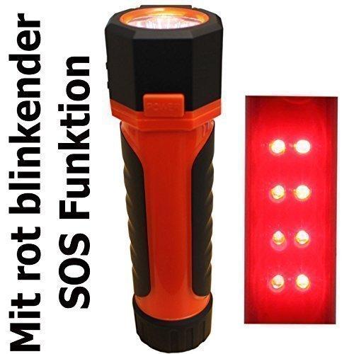 Preisvergleich Produktbild 3in1 LED Arbeitsleuchte Werkstatt Pannen Lampe Akku 12V USB SOS Funktion KHB3