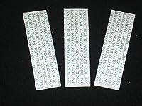 「TOP STICK BY VAPON」両面テープステッカーメンズヘアシステム交換用かつらヘアエクステンションウィッグバンドルヘアウィーブクロージャーレース正面輪郭ストレート(36PCS x 1バッグ)