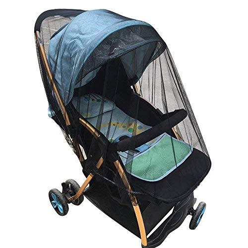 Mosquitero para carreolas y porta bebes negro ideal para proteger a tu bebe de mosquitos o zancudos, se adapta fácilmente, alta calidad con elástico