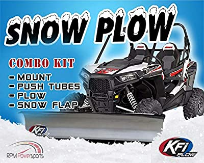 """RPM for Yamaha for Wolverine KFI 72"""" Snow PLOW Combo for Wolverine X4 / SE 2016-2019"""