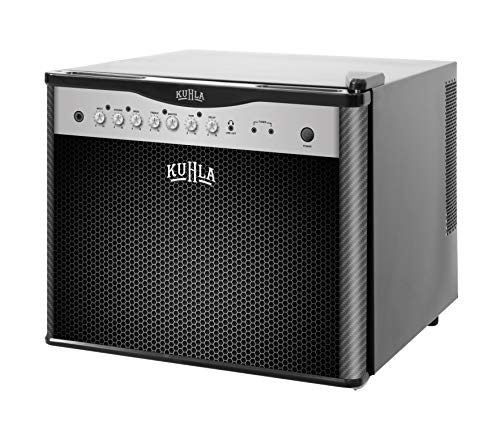 KUHLA KCLRF17B-2004 Table Top Amp/Speajer Mini Fridge Drinks Cooler, 17L capacity, Black