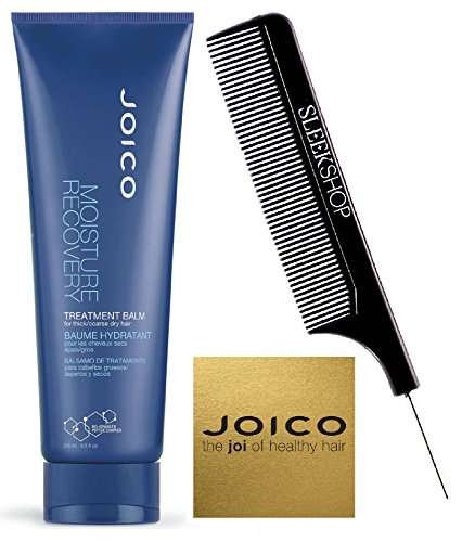 Price comparison product image Joico MOISTURE RECOVERY Treatment Balm for THICK / COARSE Dry Hair (with Sleek Steel Pin Tail Comb) (8.5 oz / 250 ml - tube)