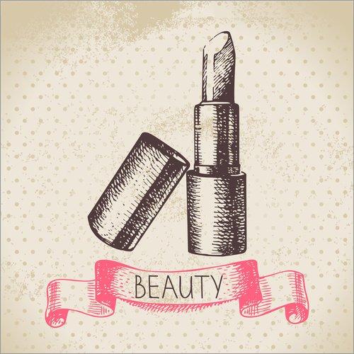 Posterlounge Acrylglasbild 40 x 40 cm: Beauty Lippenstift von Editors Choice - Wandbild, Acryl...