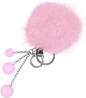 Jacksonville State University, Color Puff Key Chain, Pink