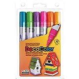 Uchida 300-6C 6-Piece Decocolor Broad Point Paint...