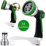 Kesser® Gartenbrause Garten-Handbrause Premium 10 Funktionen | Garten-Spritzpistole für alle...