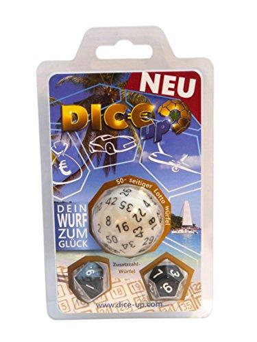 Dice4friends DIC85982 Dice-Up D50 - Dados de lotto en blíster, Multicolor
