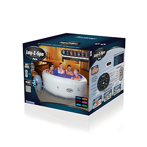 Bestway Lay-Z-Spa Paris Whirlpool, 196 x 66 cm - 3