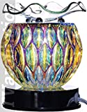 Iridescent Glass Lite-Touch Electric Aroma Lamp Oil and Wax Tart Warmer