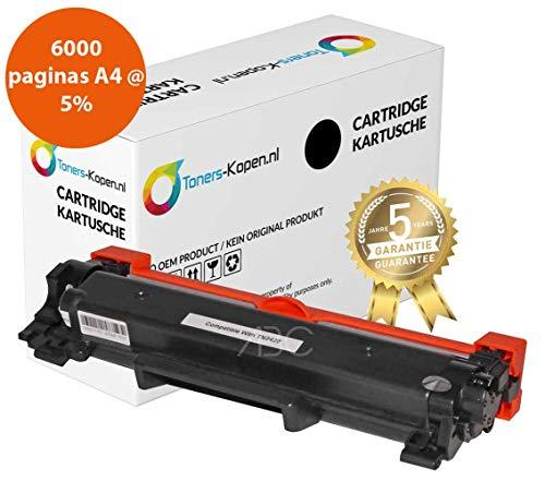Premium compatibel Toner voor Brother TN-2410 TN-2420 XXL 6000 pagina's Toners-kopen_nl