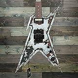 Dean Razorback Rust Electric Guitar with Case Custom Graphic, RZR RUST