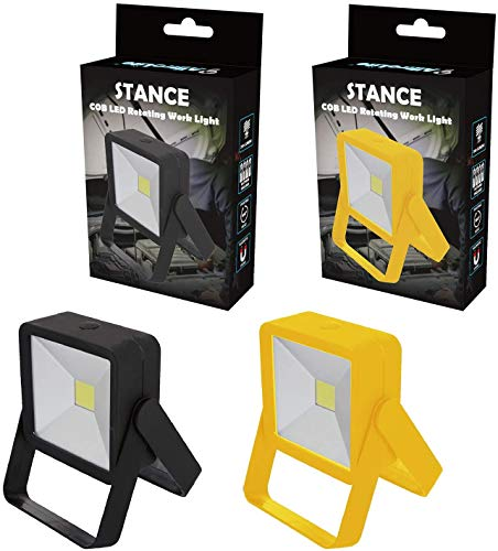 2-Pack AlltroLite Stance Kickstand COB Work Light for Mechanics