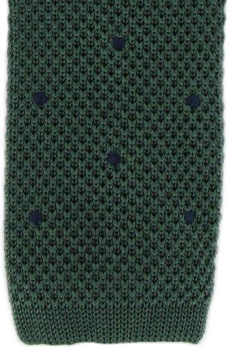 Michelsons of London Vert/Marine spot conception cravate de