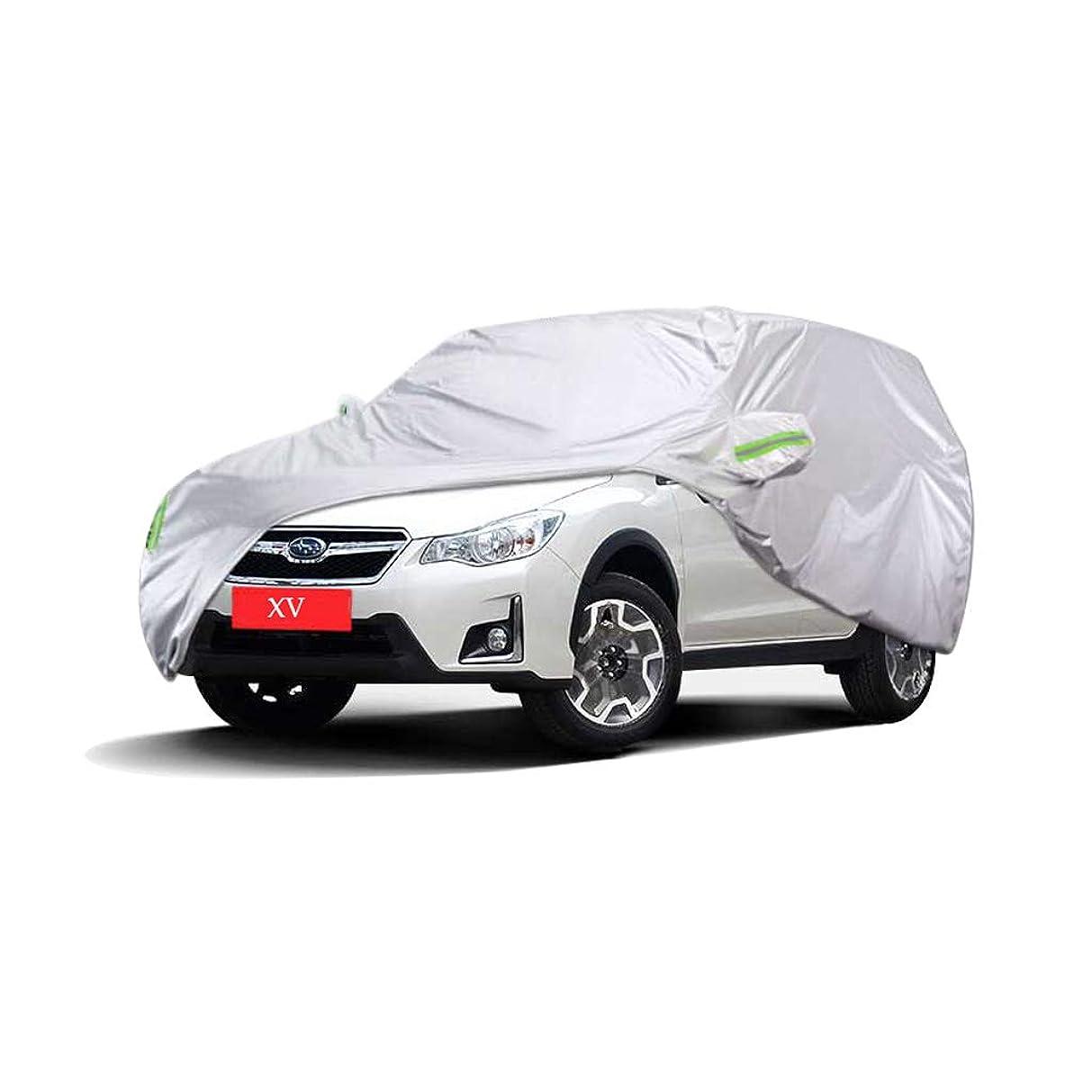 王室換気するアドバイス車のカバー スバルXVスペシャルカーカバーSUV厚いオックスフォード布日焼け止め防雨暖かいカバーカーカバー (サイズ さいず : 2016)