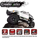 AKDSteel Remo Hobby 1093-ST 1/10 2.4G 4WD Waterproof Brushed Rc Car Off-Road Rock Crawler Trail Rigs Truck RTR Toy