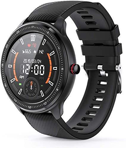 VoSinrly Smartwatch, Reloj Inteligente IP67 Impermeable Pulsera Actividad Inteligente con Pulsómetro, Monitor de Sueño, Podómetro, Calorías Mujer Hombre para iOS y Android