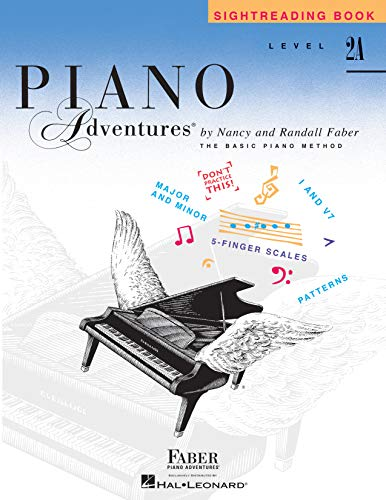 Piano Adventures : Level 2A Sightreading Book
