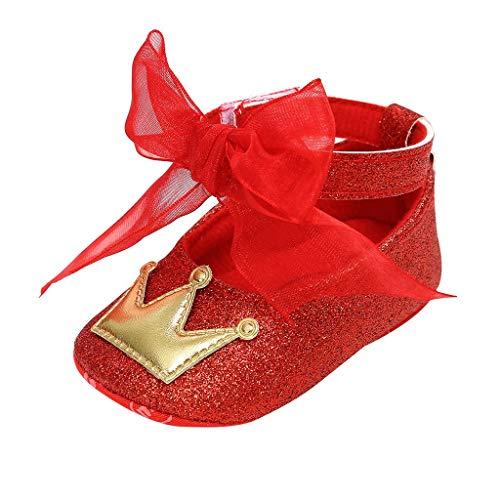 Zapatos De Bebé De Cinta Zapatos De Princesa Zapatos De Antideslizantes De...
