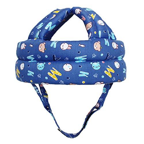 Sweet&rro17 Baby Helm Kleinkind Schutzhut Kopfschutz Verstellbarer Sicherheitshelm für Baby Kleinkind Lernen Laufen und Sitzen(Stil 3)