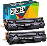 Do it Wiser Cartucho de Tóner HP 85A CE285A Compatible para HP Laserjet Pro P1102 P1102W M1132 M1212NF M1212NF MFP M1217NFW MFP M1130 M1134 (Negro)