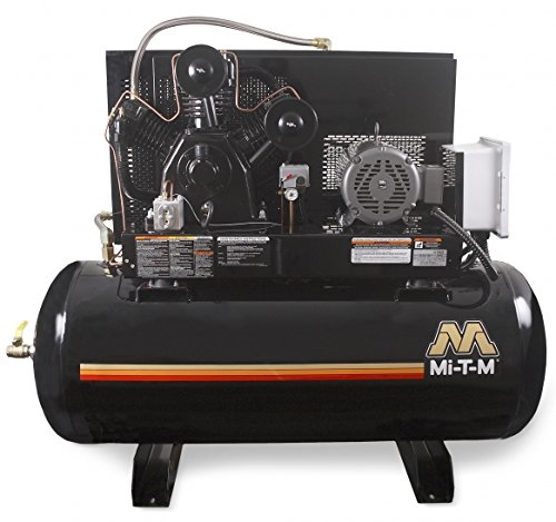 Mi-T-M ADS-23110-120HM M Series Air Compressor, 2-Stage, 120...