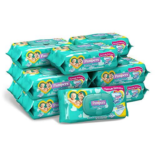 Pampers Baby Fresh Tücher, 12 Packungen mit 70 Tüchern