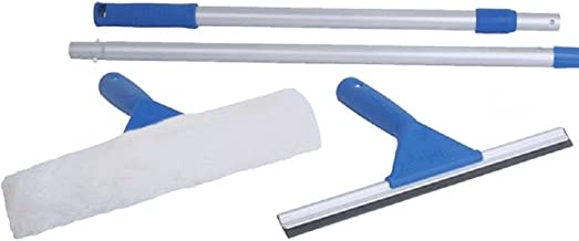 Uniware Window Cleaning Kit - Squeegee/Washer + 6' Pole