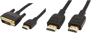 Amazonベーシック HDMI-DVI 変換ケーブル - 0.9m (タイプAオス- DVI24pinオス) &  ハイスピード HDMIケーブル - 1.8m (タイプAオス - タイプAオス)