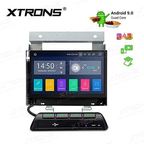 XTRONS - Unidad de navegación GPS para salpicadero de coche con pantalla táctil de 7 pulgadas, compatible con RCA y Bluetooth 5.0, Wi-Fi, DVR DAB+ TPMS OBD2 para Land Rover Freelander 2