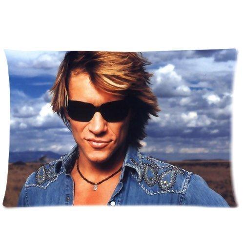 Jon Bon Jovi Custom Pillowcase Standard Size 20x30