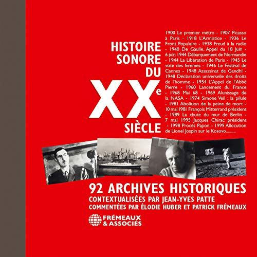 Histoire sonore du XXe siècle  By  cover art